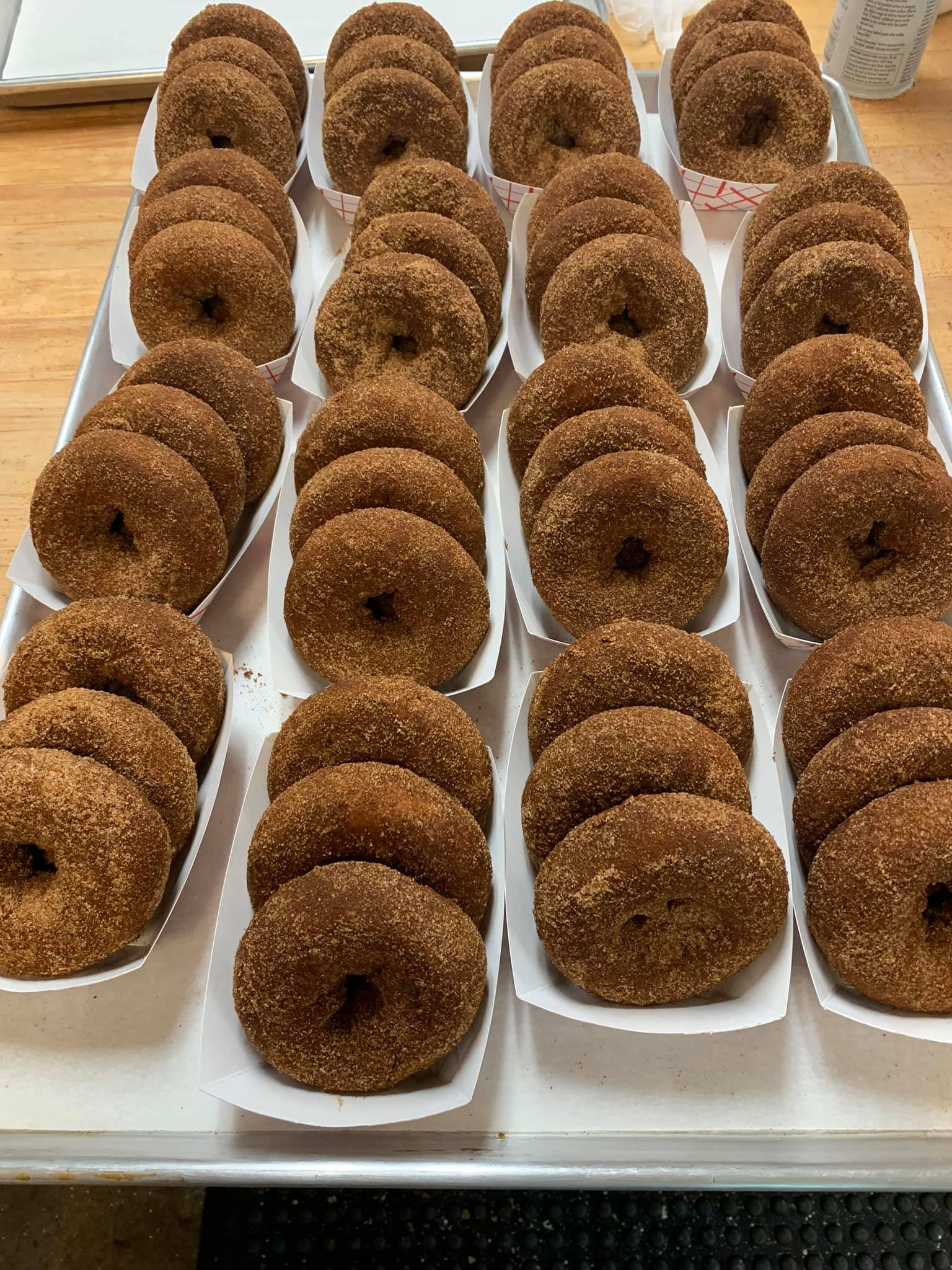 Apple Cider Donuts at Emery's Farm in New Egypt, NJ