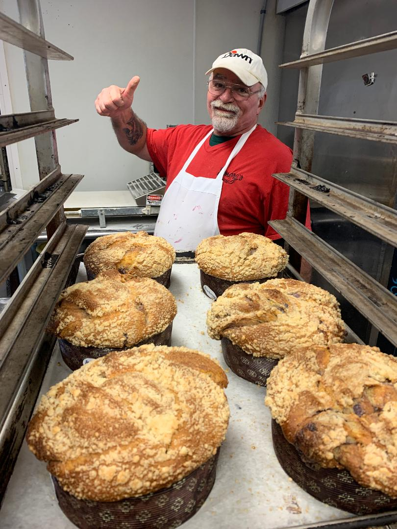 Pete, our Baker! Emery's Farm, New Egypt, NJ